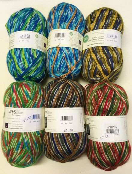 Signature 4ply Birds Collections wool nylon